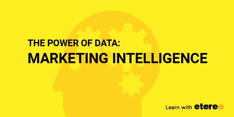 an image on the power of data marketing intelligence