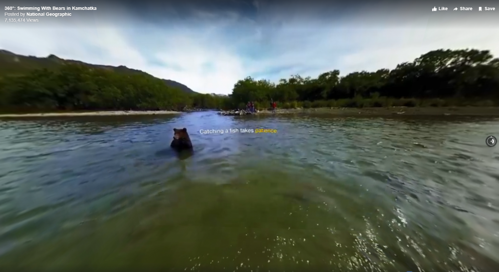a screenshot of nat geo fb 360
