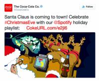 a screenshot of coca cola's twitter