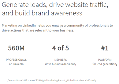 LinkedIn Audience Study